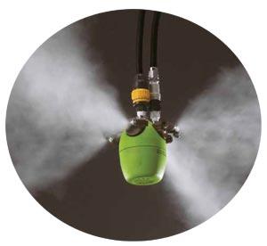 喷雾加湿系统